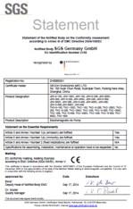 Certifikát CE pro Secoh JDK