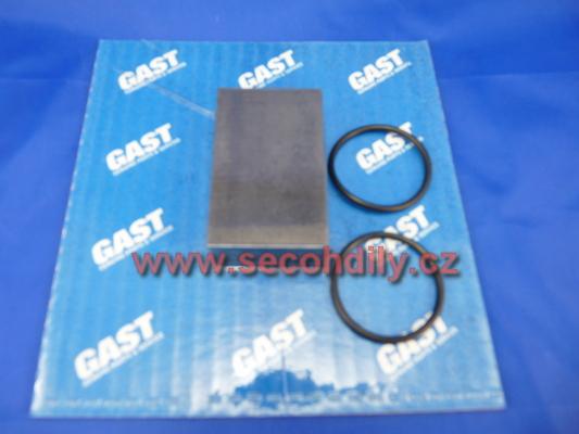 Sada náhradních dílů pro lamelový kompresor-vývěvu GAST 1423